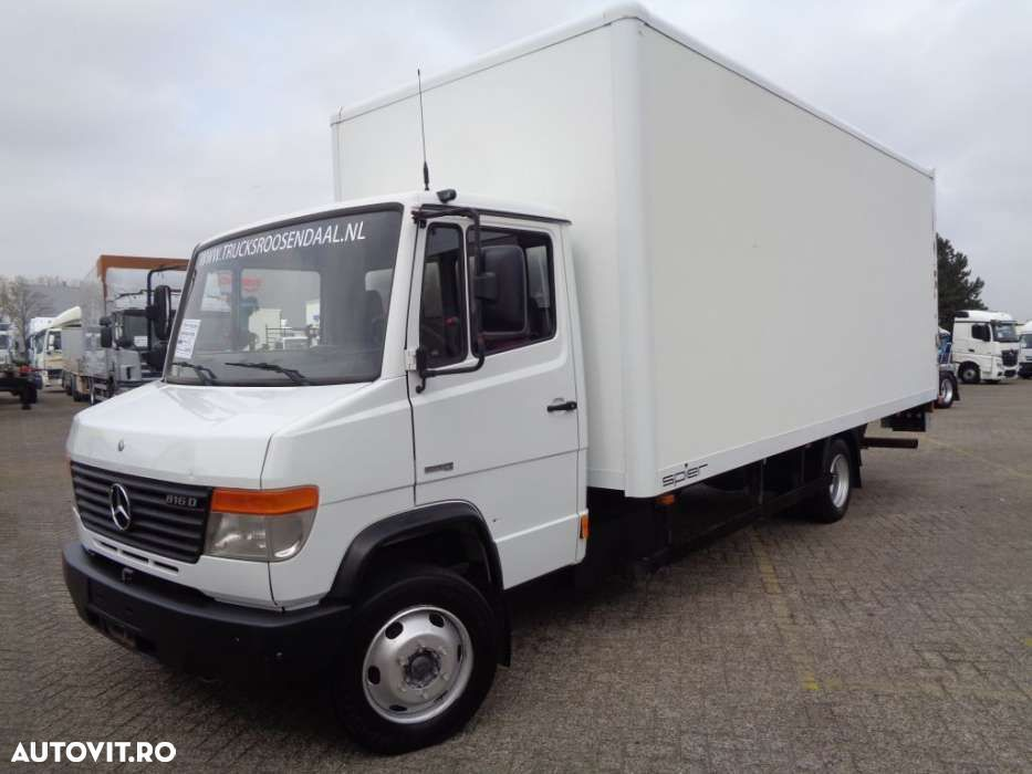 Mercedes-Benz Vario 816D + Manual + Lift - 1