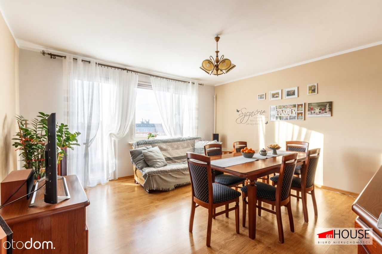 Przestronne i wygodne mieszkanie dla rodziny-3 pok