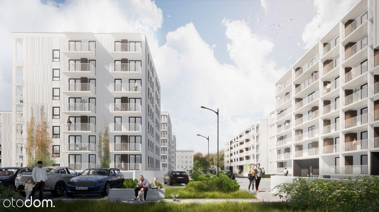 Mieszkanie 3 pokoje (55mkw.) na nowym osiedlu.