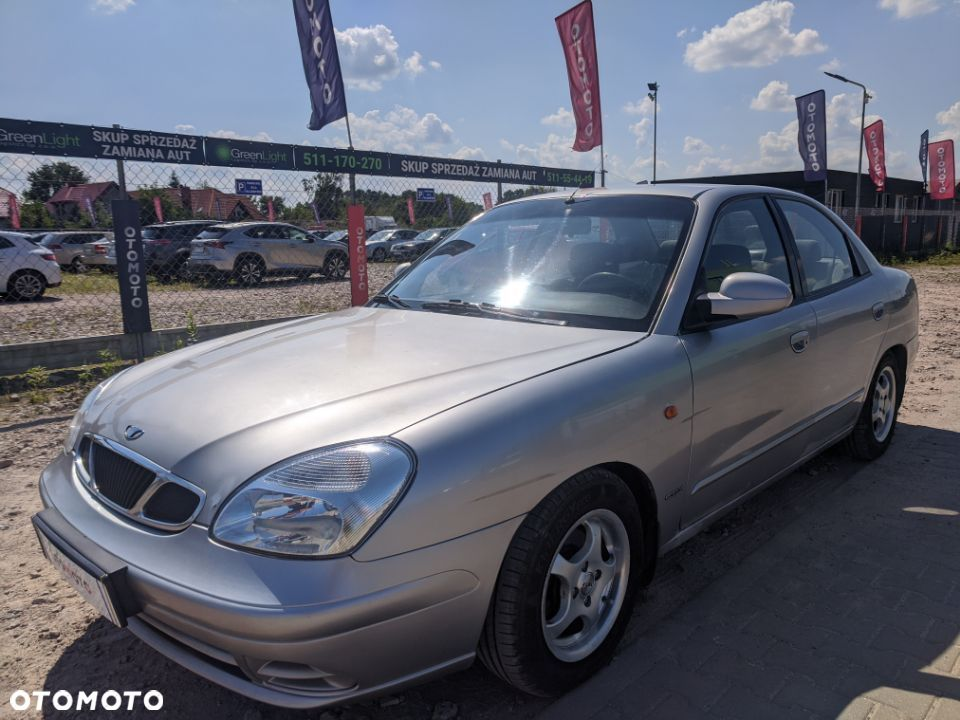 Daewoo Nubira 2.0 benzyna,TURBO,207KM,opłaty,salonPL,Wwa,KOMIS GREEN LIGHT - 1