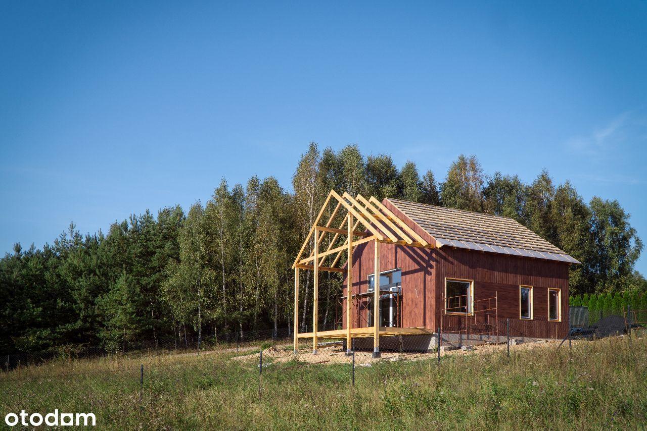 Dom na skarpie w Królewie z sauną