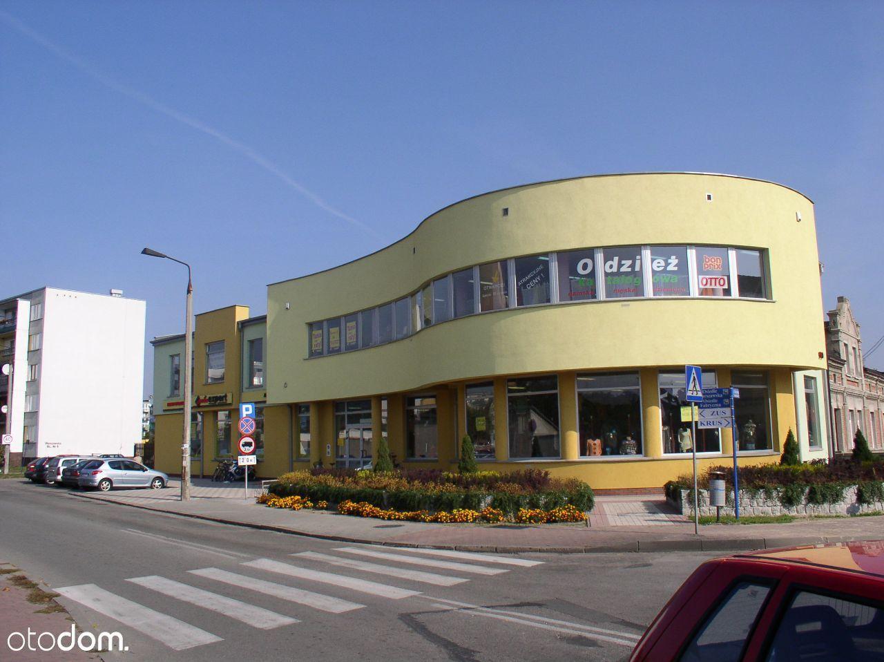 Lokal w centrum handlowo-usługowym 240m2 Wieruszów