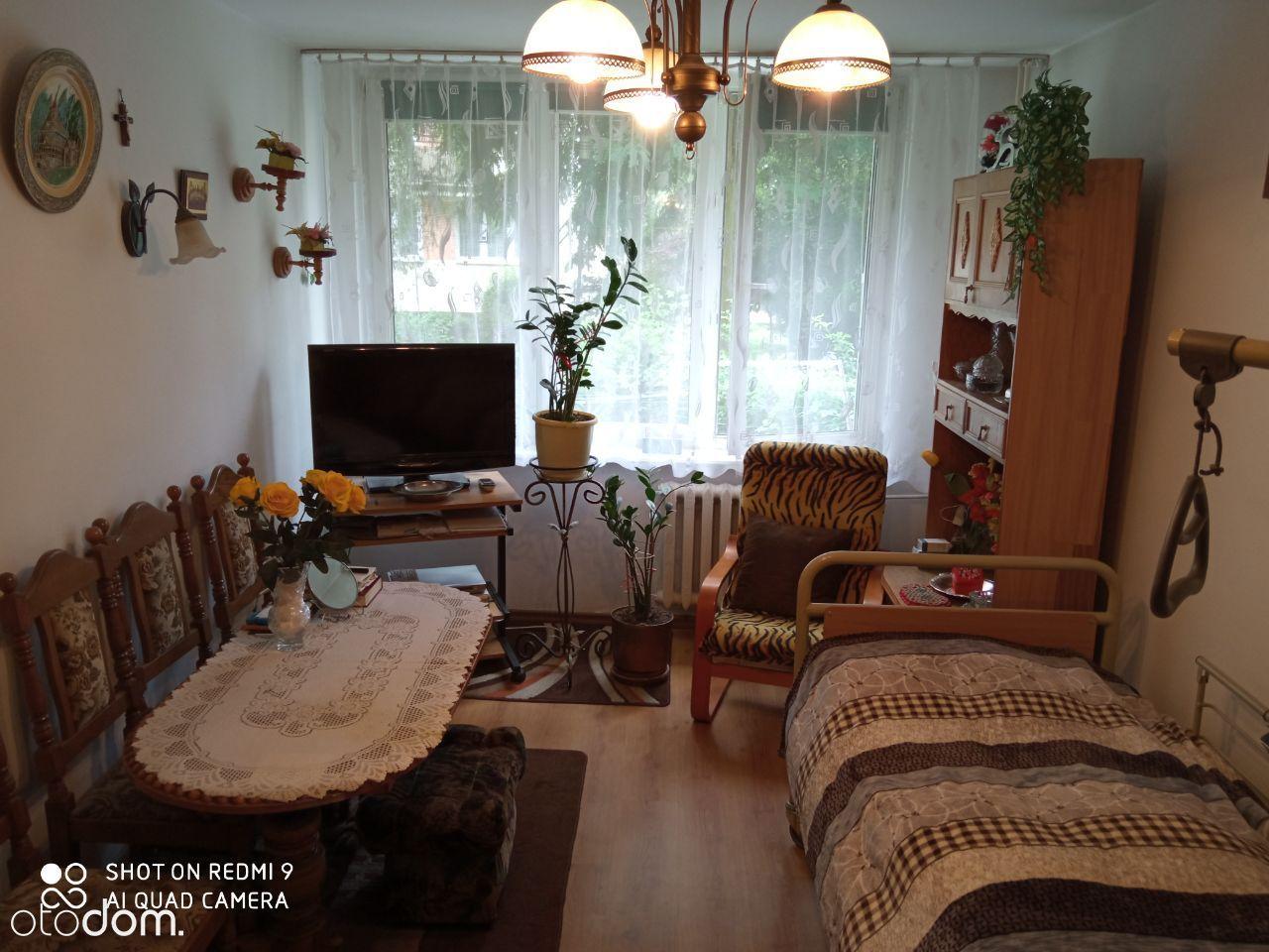 Mieszkanie 45m2 na parterze w bloku