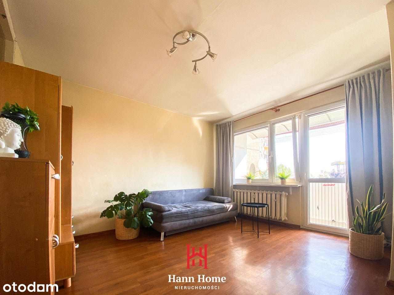 Zawiszaków 4 – Dwa pokoje | Osiedle ZWM | Balkon