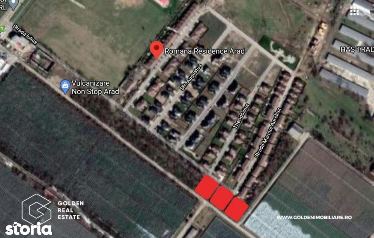 Teren intravilan, Gradiste, zona Romana Residence, 629 mp