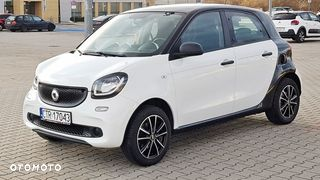 Smart Forfour II 2015 r. 48 tys. km