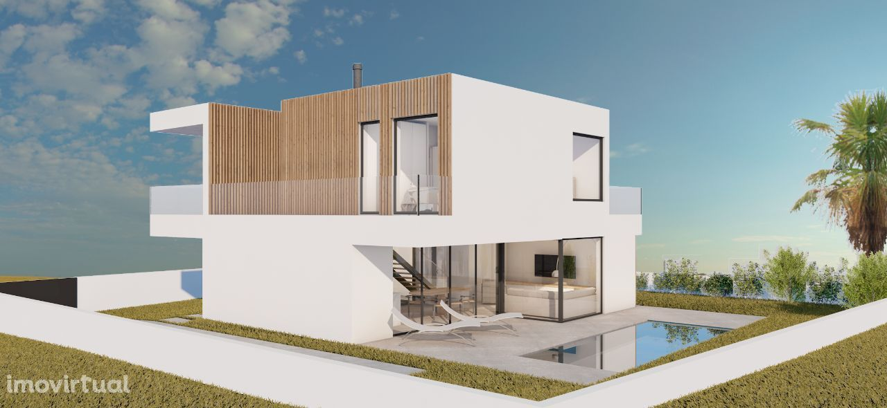 Villa V4 between Sintra and Cascais built with ICF system