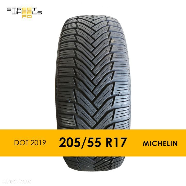 205/55 R17 MICHELIN Alpin 6 - O Anvelopa SH Iarna MS 205 55 17 M+S - 1