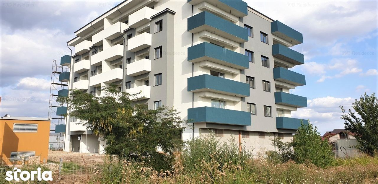 Apartament 2 camere 99D Residence. Direct dezvoltator. Bloc nou.