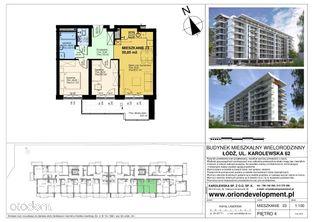 3 pokojowe mieszkanie - Ogrody Karolewska 62
