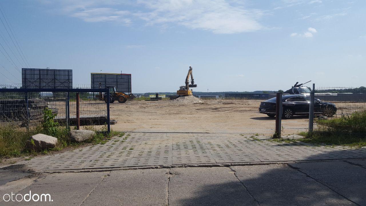 Wynajmę utwardzony plac Gdańsk przy obwodnicy
