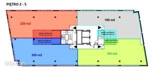 Powierzchni biurowa / Lokal biurowy, pow. 185 m2