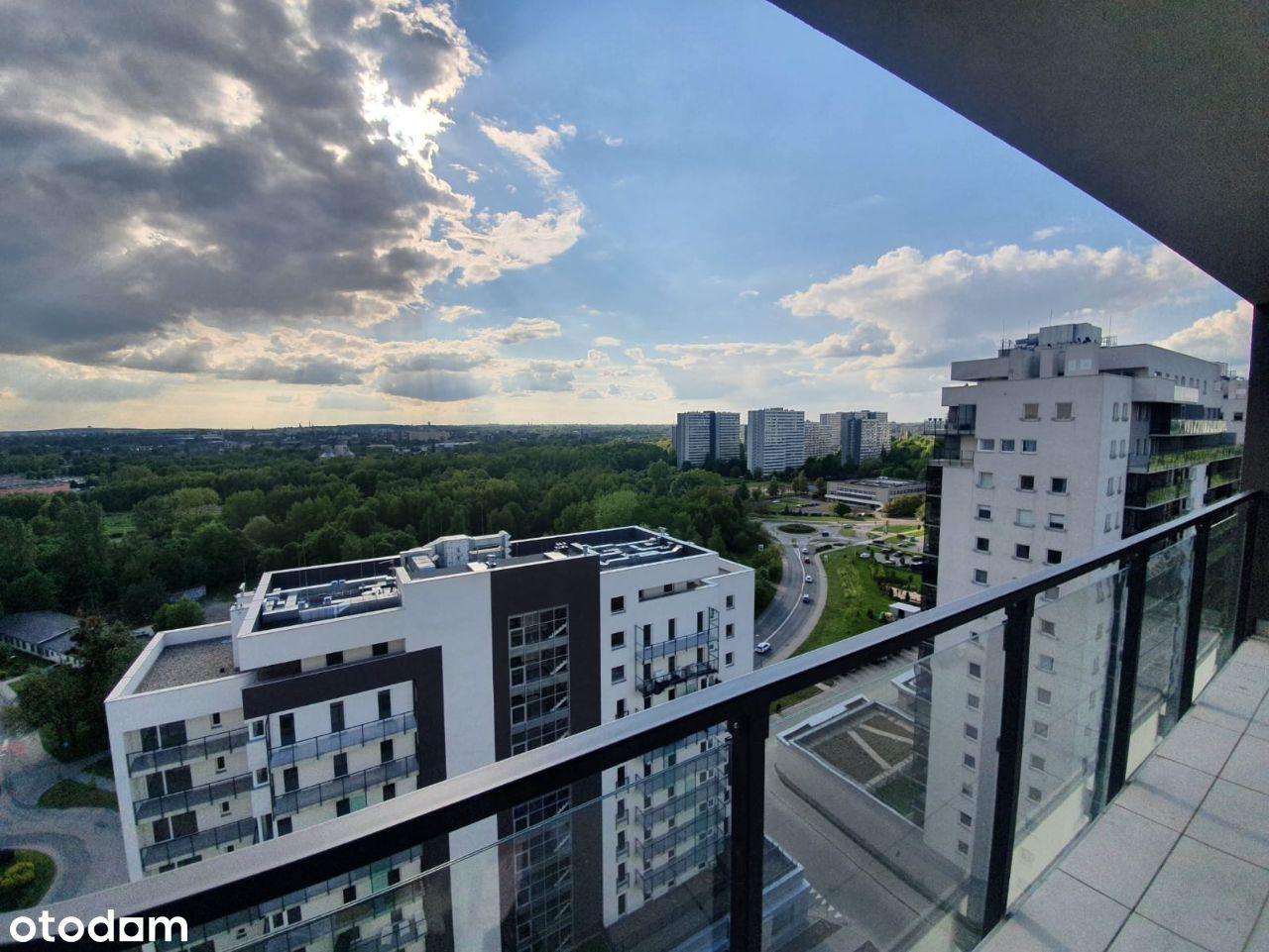 NOWE mieszkanie na 15 piętrze z 12,3m2 tarasem