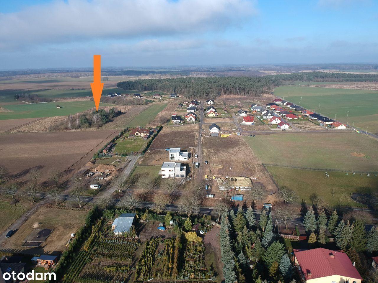 Duża działka w m. Koplin gm. Choszczno 0,25 ha