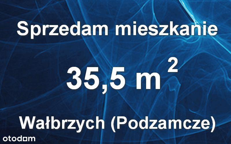 Mieszkanie 35,5 m2 + balkon, Wałbrzych (Podzamcze)