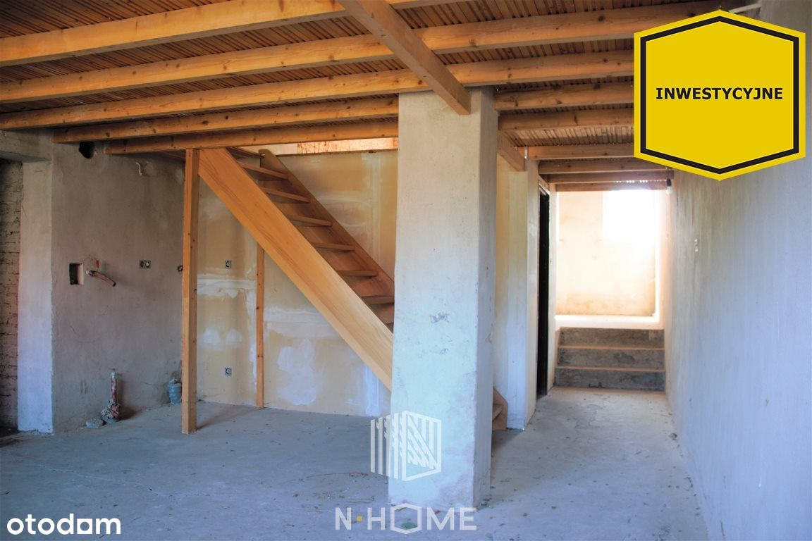 mieszkanie z antresolą do własnej aranżacji/garaż