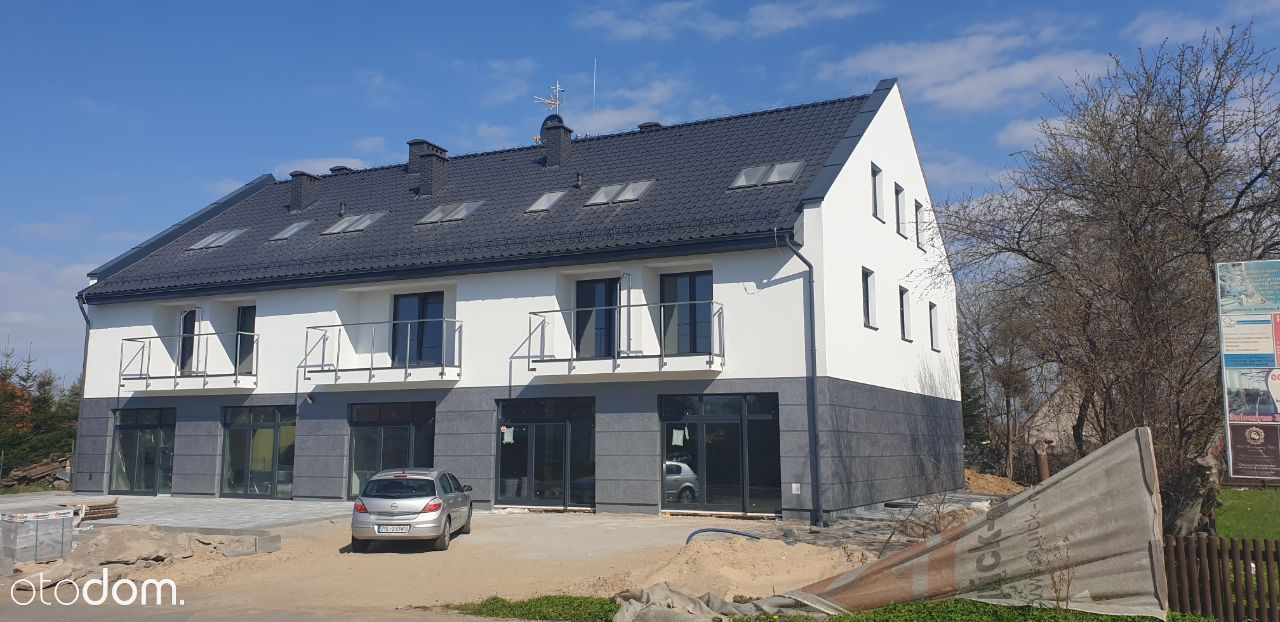 Nowy lokal handlowy, parter, pow. 165 m2