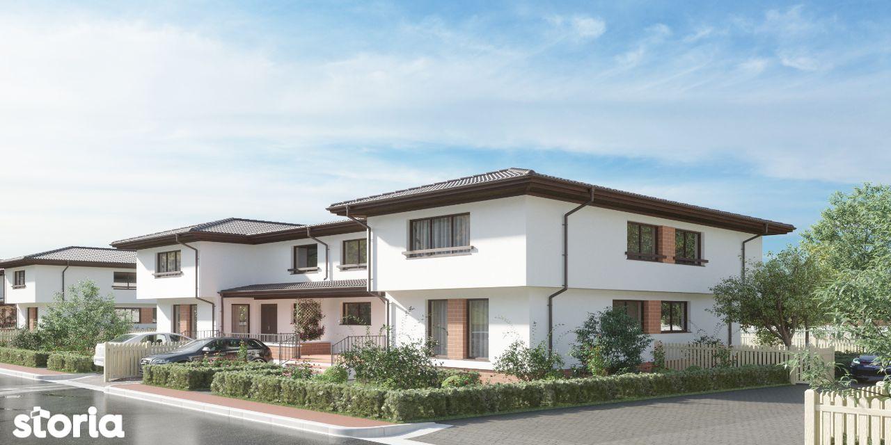 Casa cu 4 camere racordata la toate utilitatile in Gardena Residence
