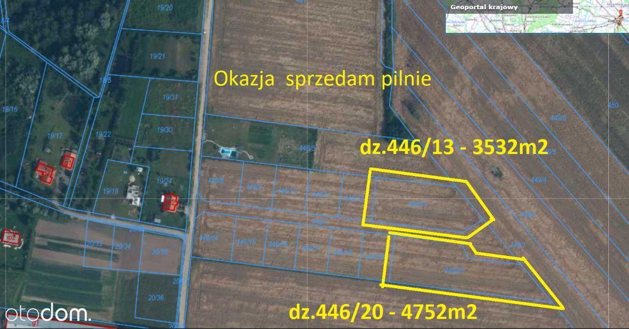 Goleniów Okazja Działka 3532 m2 po 28zł/m2
