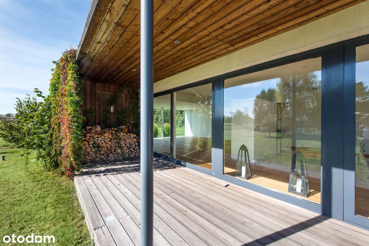 Unikatowy dom na łonie natury - Konstancin