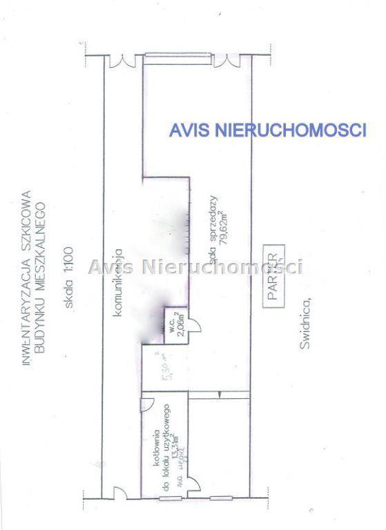 Lokal użytkowy, 100 m², Świdnica