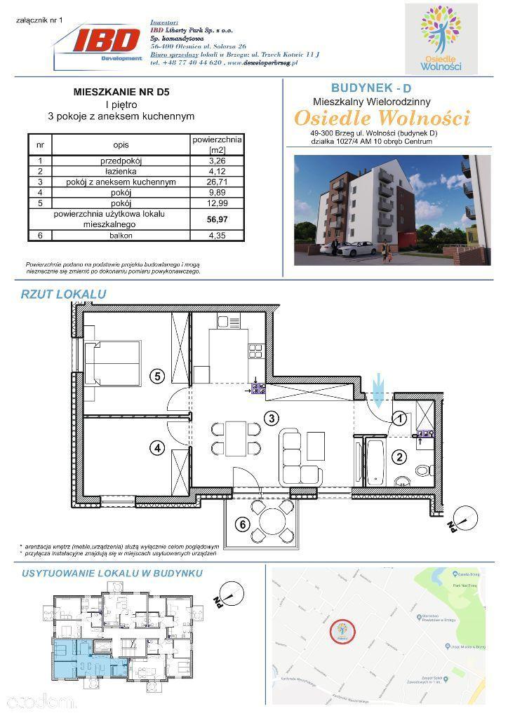 Mieszkanie D5 - rezerwacja
