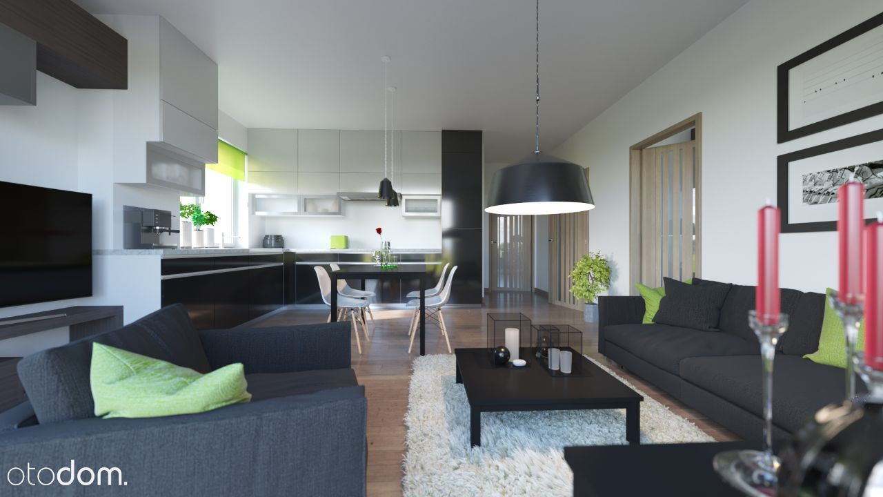 Wygodne mieszkanie 65,7m2 z ogrodem