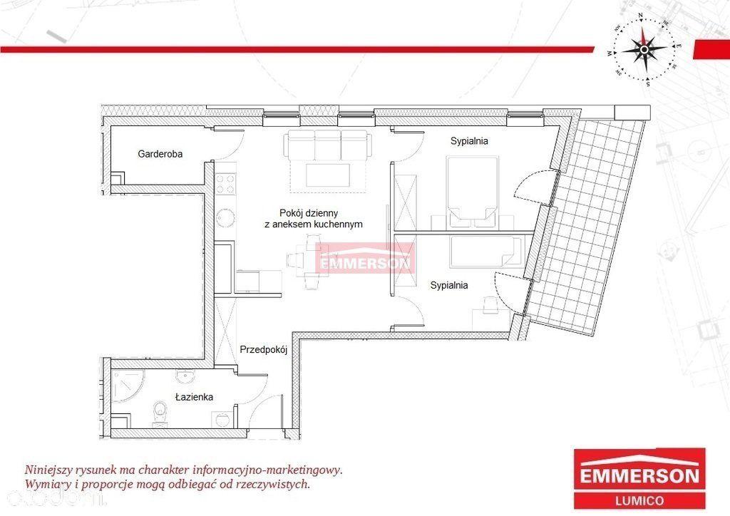 Mieszkanie 3 pokoje Podgórze