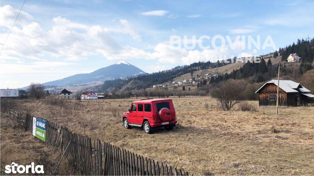 Teren intravilan 8366 mp zona Roșu, Vatra Dornei