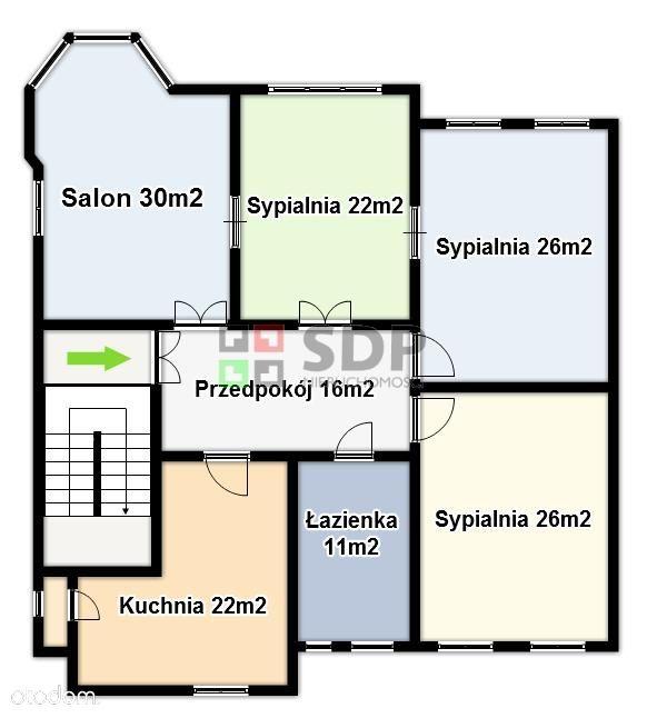 Mieszkanie willowe 149m2 + 44m2 + garaże