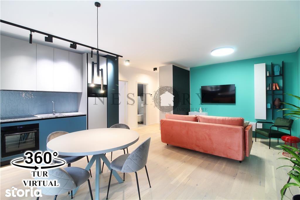 Prima inchiriere! Apartament LUX, 2 camere, parcare, gradina, Central