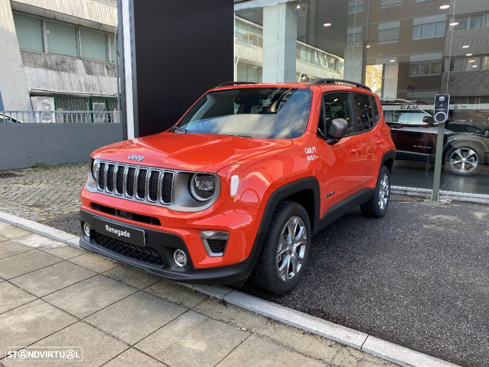 Jeep Renegade 1.3 TG 4Xe Limited - 23