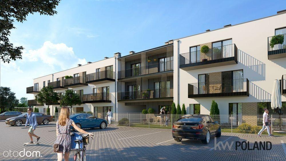 Mieszkanie 51,30 m2 z ogródkiem