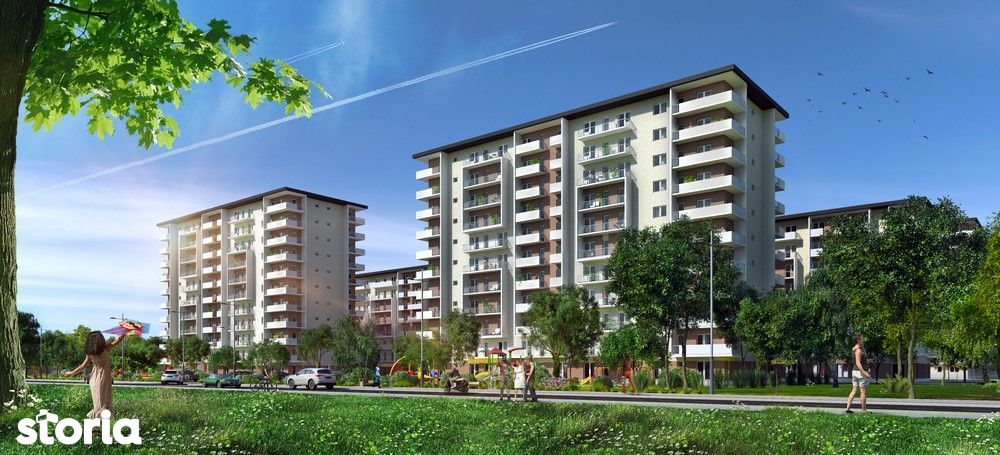 Apartament nou, modern,decomandat, 95 mp, etaj 2/8 .