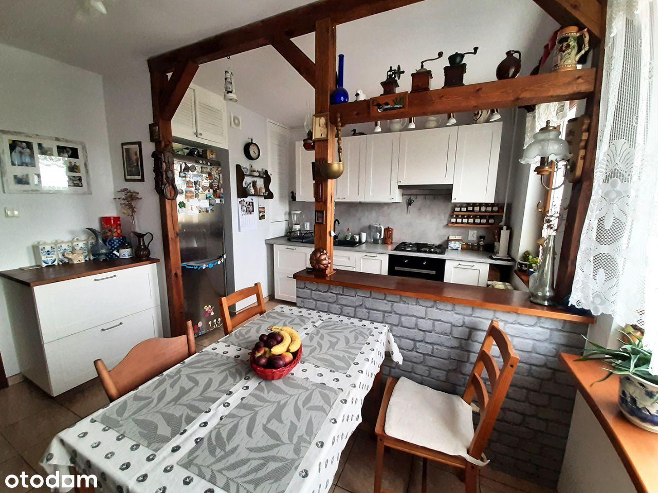 Duże, jasne mieszkanie 74m², 3 pokoje, Nowe Miasto