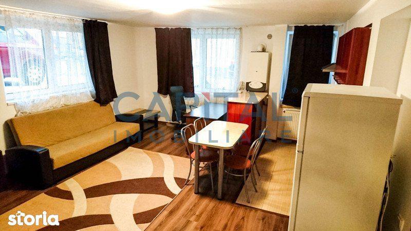 Vanzare apartament 2 camere semidecomandat, zona Campului, Manastur, C