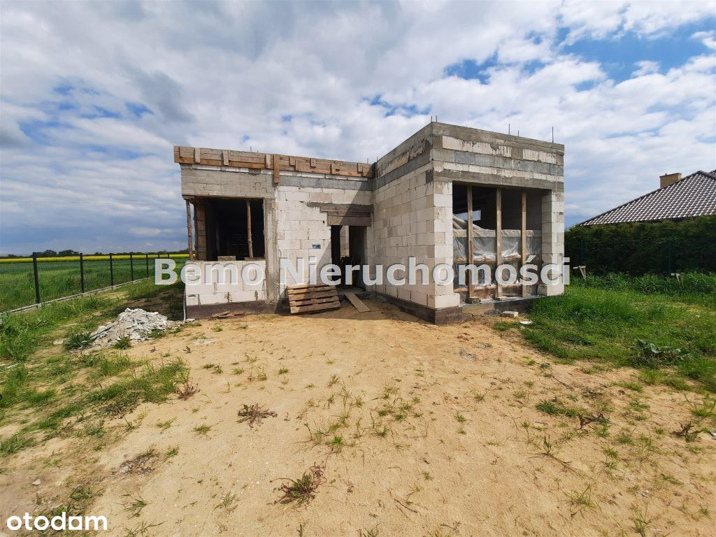 Dom w trakcie budowy na sprzedaż. Atrakcyjna cena.