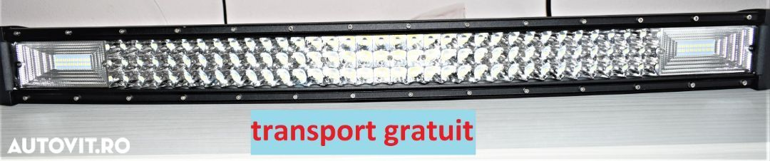 Led Bar 405 W, 81 cm, curbat - 1