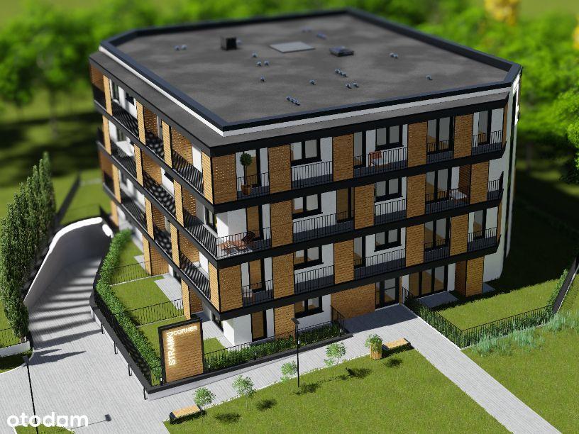 Nowe Apartamenty – 45 m2 z ogródkiem od dewelopera