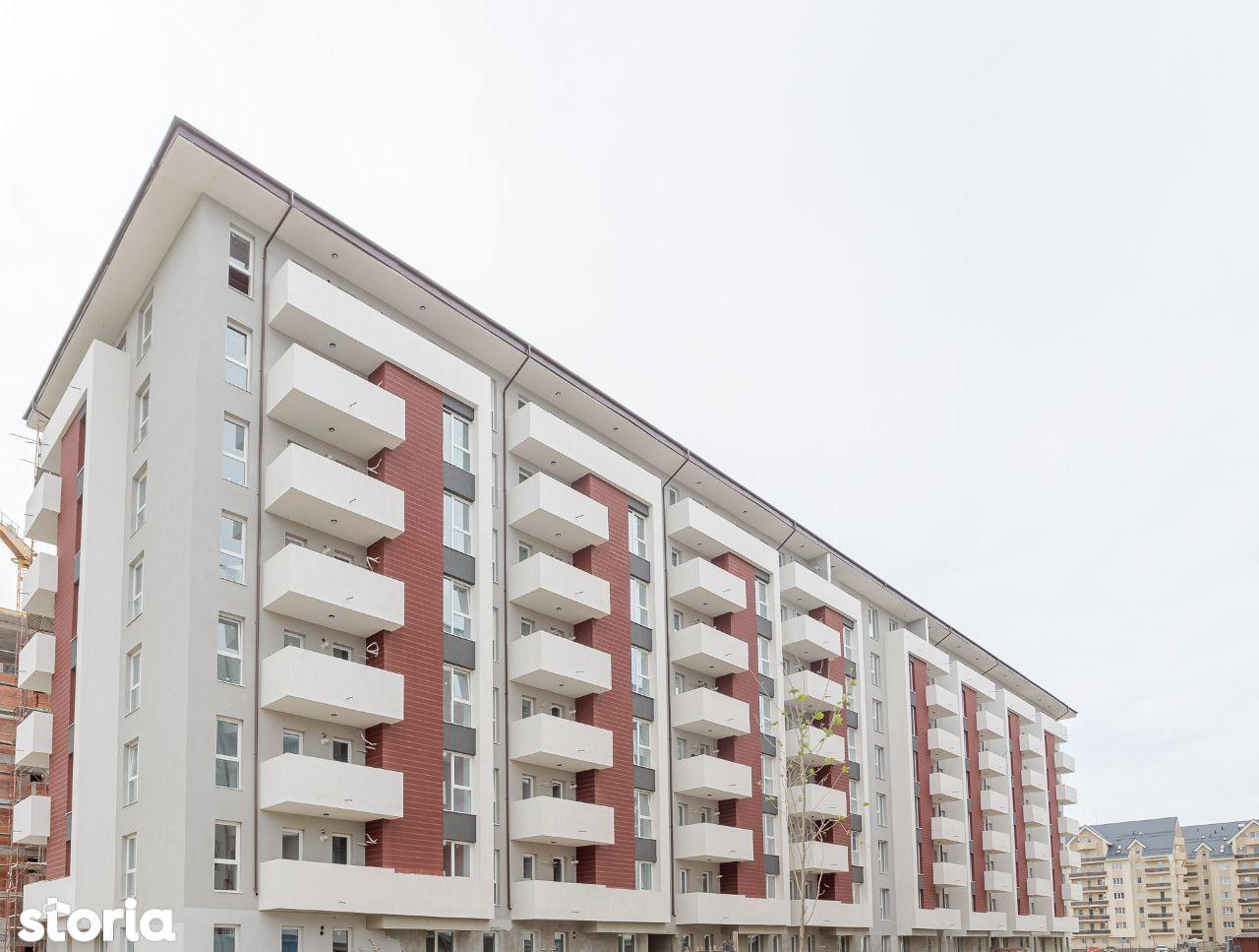 Apartament 3 camere, etaj intermediar la 700 m de statia de metrou