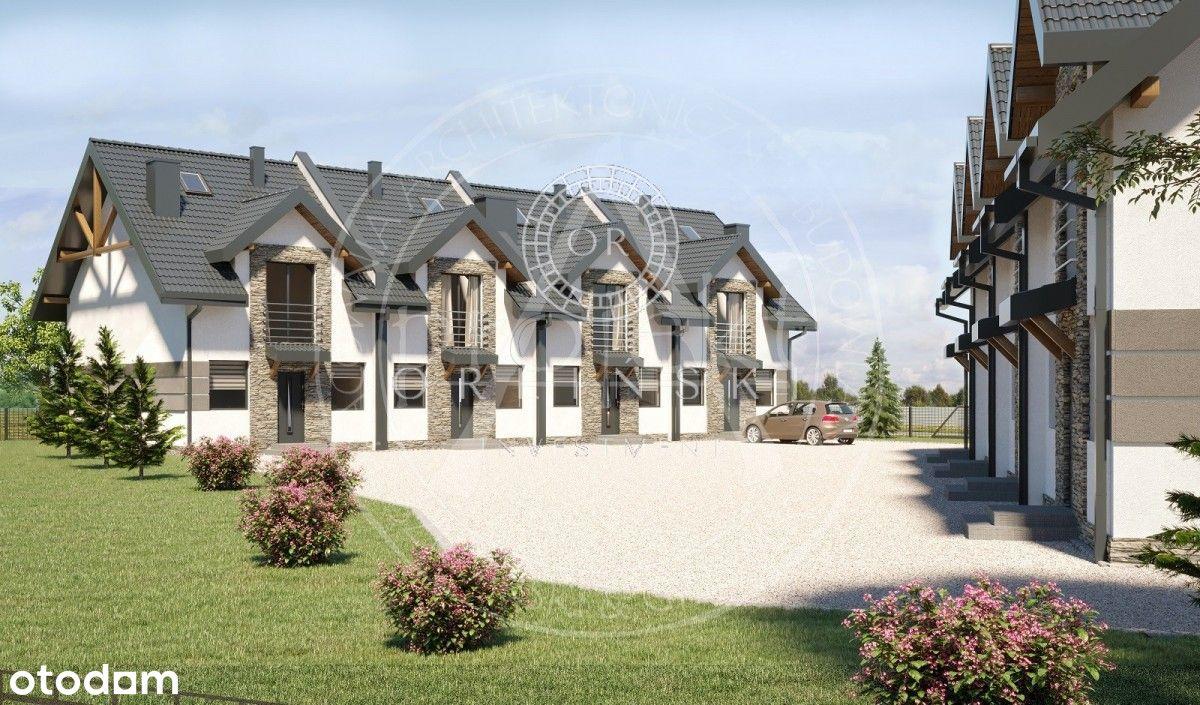 Modlniczka - mieszkanie z 300 M ogródkiem