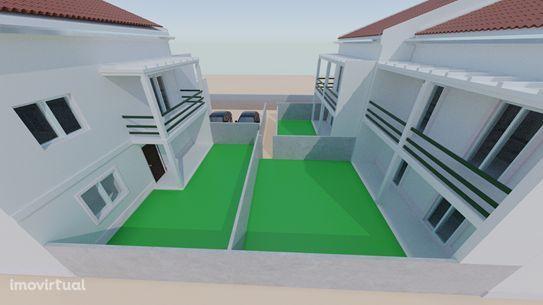 Moradia T4 em construção Massamá em condominio fechado