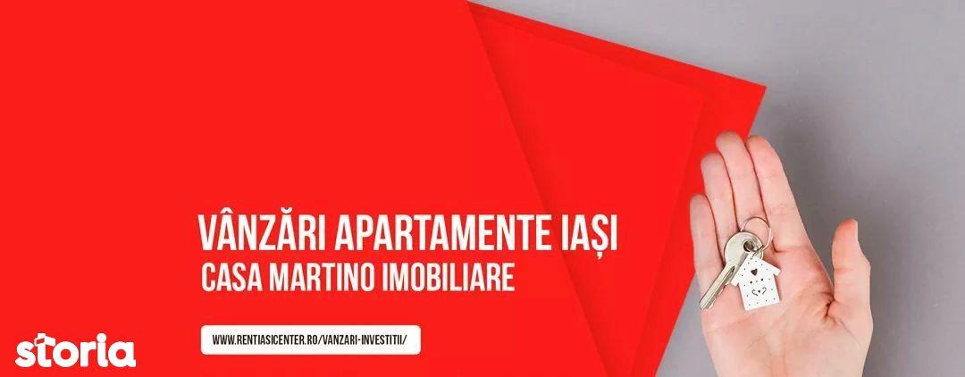 Centru Mitropolie apartament 1 camera bloc nou