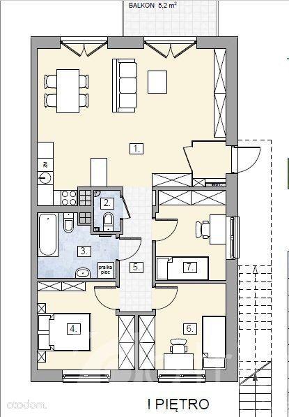Mieszkanie w budynku czterorodzinnym z ogrodem