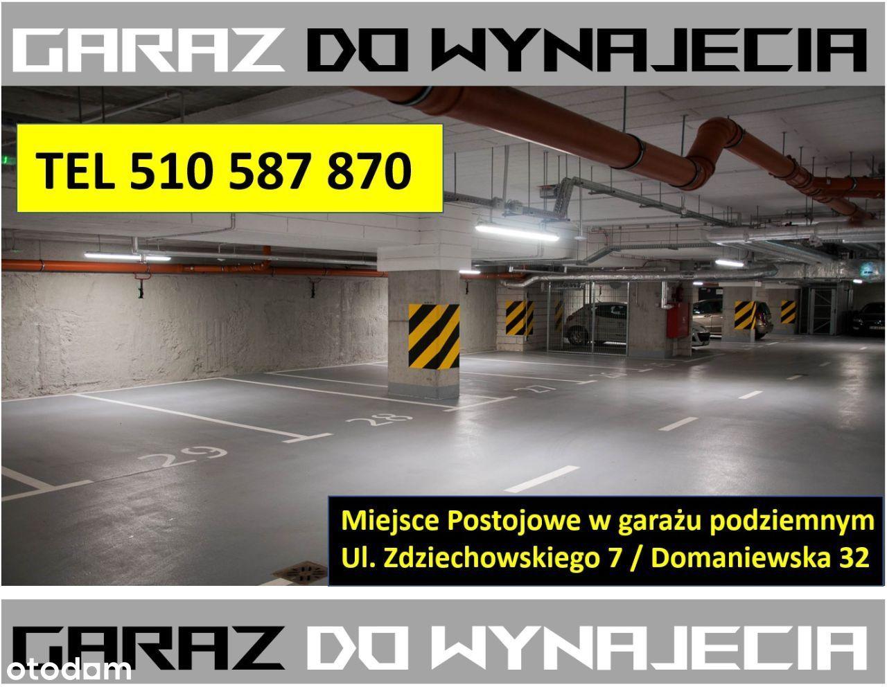 Garaż: Mokotów / Domaniewska 32 – do wynajęcia