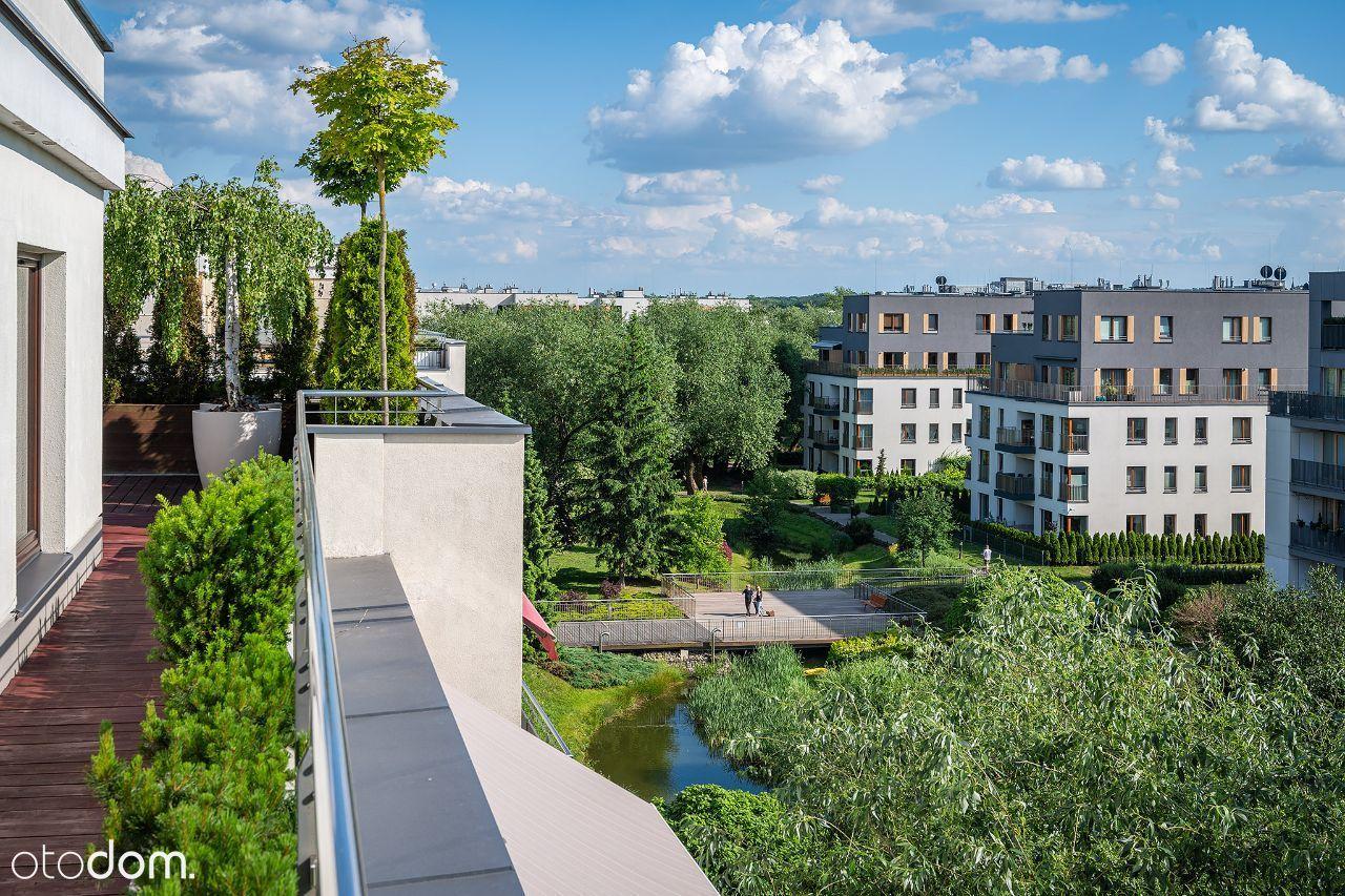 Penthouse zajmujący całe piętro, 215m tarasu