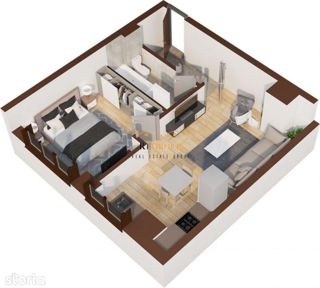 Apartament cu 2 camere - Tatarasi (Flux)