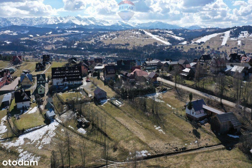 Duża działka w spokojnej okolicy - Czarna Góra