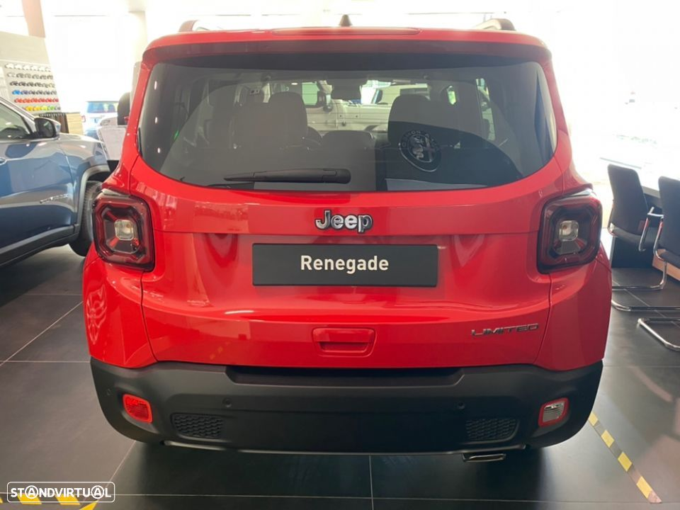 Jeep Renegade 1.3 T Limited DCT - 4