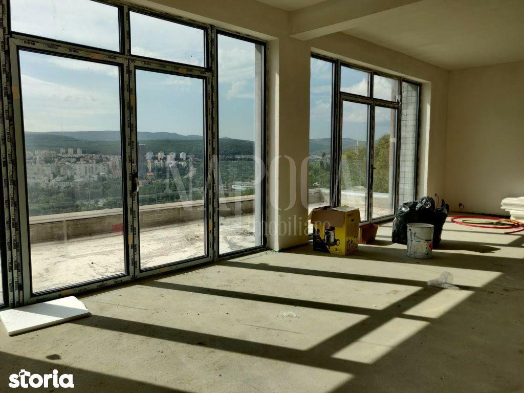 Apartament pe 2 niveluri cu 4 camere si terasa cu panorama, Grigorescu